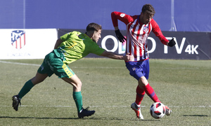 Temporada 18/19 | Atlético B - Unionistas | Cristian Rodríguez