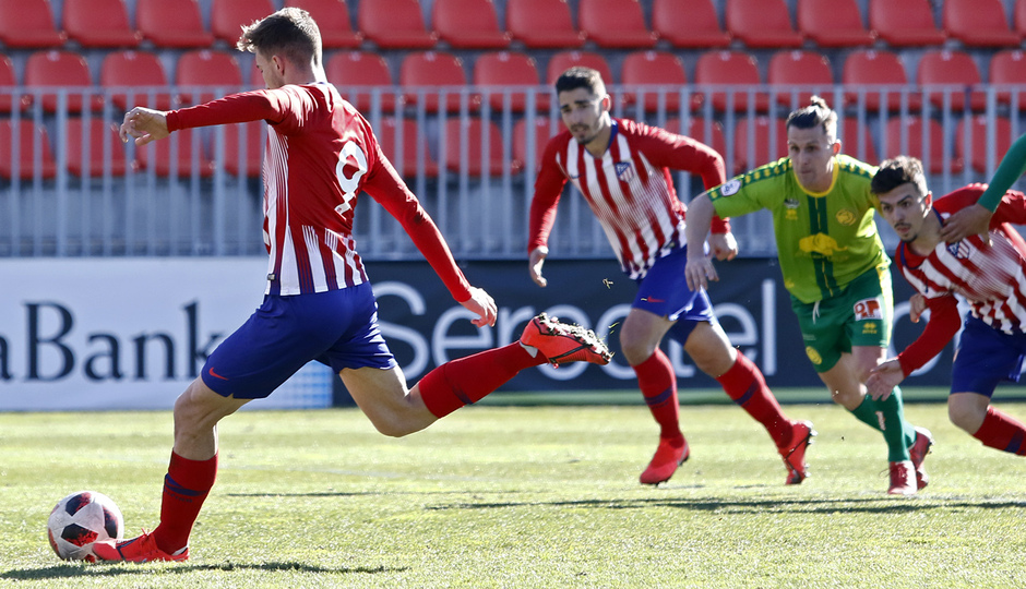 Temporada 18/19 | Atlético B - Unionistas | Gol de Darío