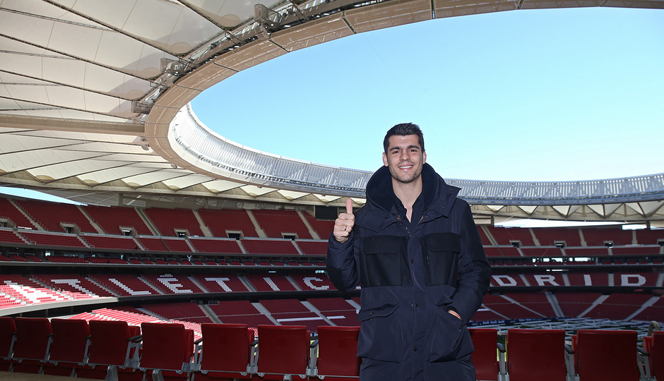 Temp. 18-19. Bienvenido Álvaro Morata. Wanda Metropolitano