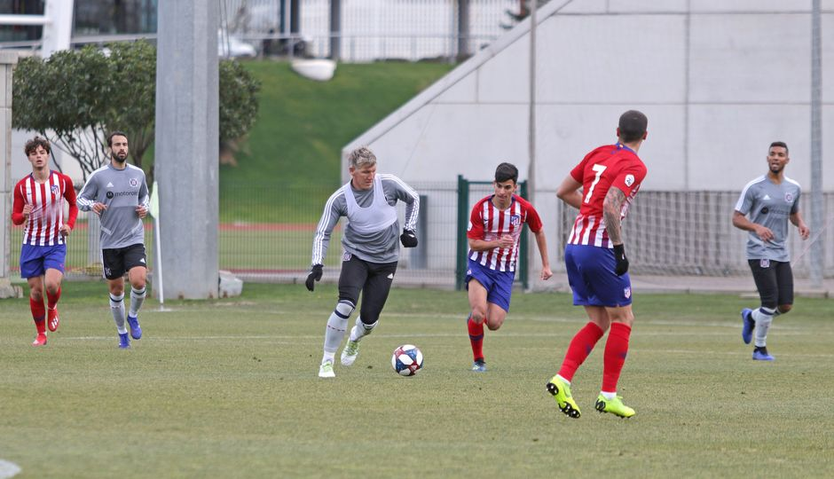 Temporada 18/19 | Atlético de Madrid B - Chicago Fire