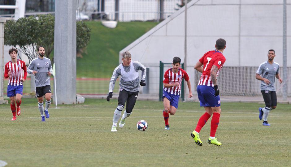 Temporada 18/19   Atlético de Madrid B - Chicago Fire