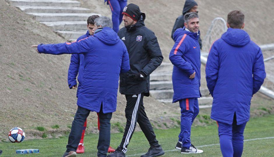 Temporada 18/19   Atlético de Madrid B - Chicago Fire   Paunovic
