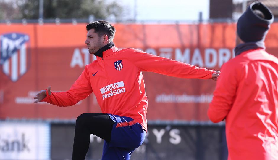 Temporada 18/19 | Entrenamiento | Morata