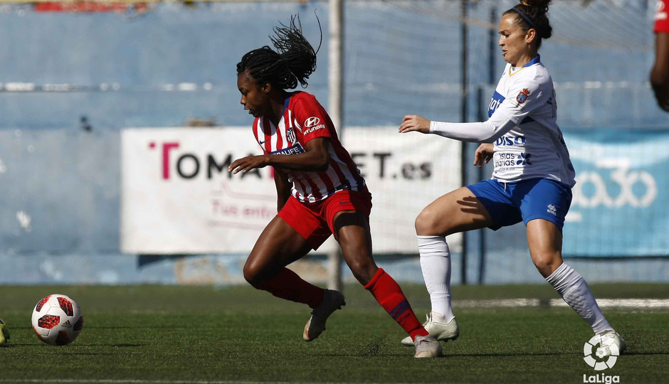 Temporada 18/19 | Granadilla - Atlético de Madrid Femenino | Ludmila | LaLiga