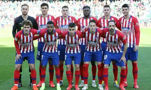 Temporada 18/19 | Real Betis - Atlético de Madrid | Once inicial
