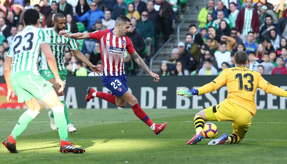 Temporada 18/19 | Real Betis - Atlético de Madrid | Vitolo