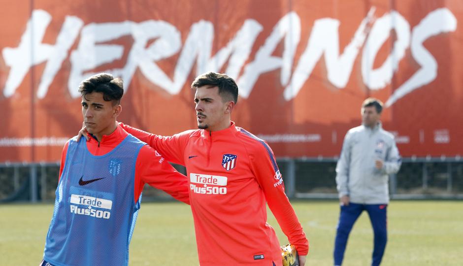 Temporada 18/19 | Entrenamiento del primer equipo | 04/02/2018 | Joaquín