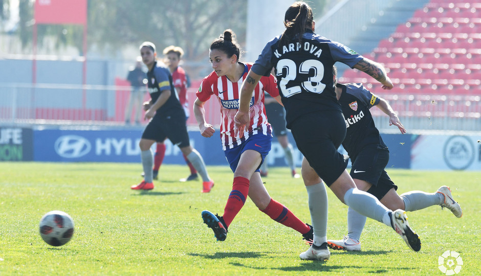 Temp 2018-2019   Atlético de Madrid Femenino - Sevilla   Kaci