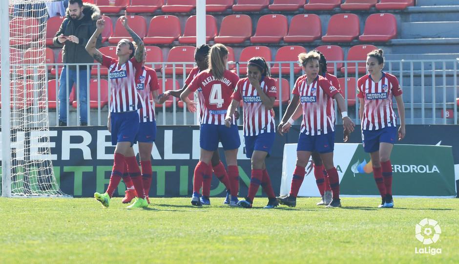 Temp 2018-2019   Atlético de Madrid Femenino - Sevilla   Celebración
