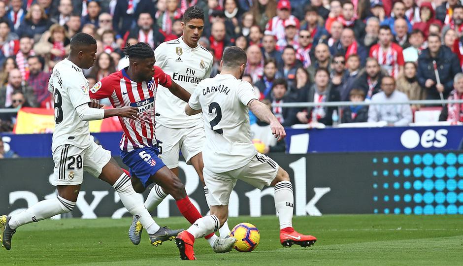 Temporada 18/19 | Atlético de Madrid - Real Madrid | Thomas