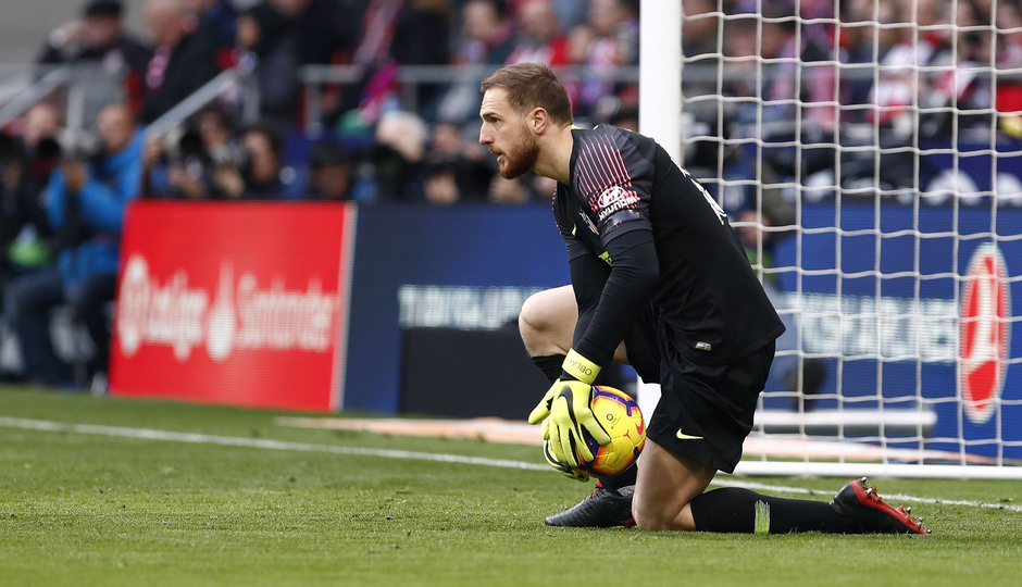 Temporada 18/19 | Atlético de Madrid - Real Madrid | Oblak