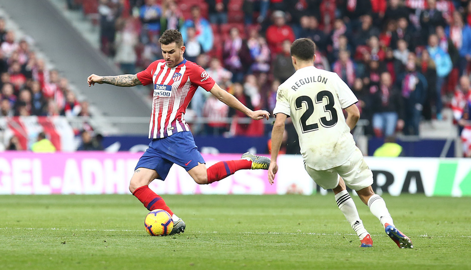 Temporada 18/19 | Atlético de Madrid - Real Madrid | Lucas