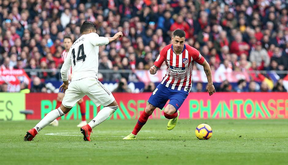 Temporada 18/19 | Atlético de Madrid - Real Madrid | Giménez