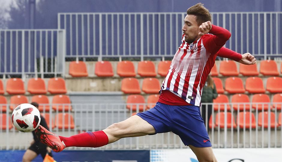 Temporada 18/19 | Atlético de Madrid B - Navalcarnero | Darío