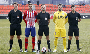 Temporada 18/19 | Atlético de Madrid B - Navalcarnero | Árbitros