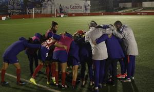 Temporada 18/19 | Madrid CFF - Atlético de Madrid Femenino | Conjura piña