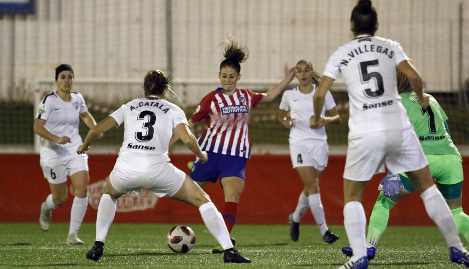 Temporada 18/19 | Madrid CFF - Atlético de Madrid Femenino | Esther