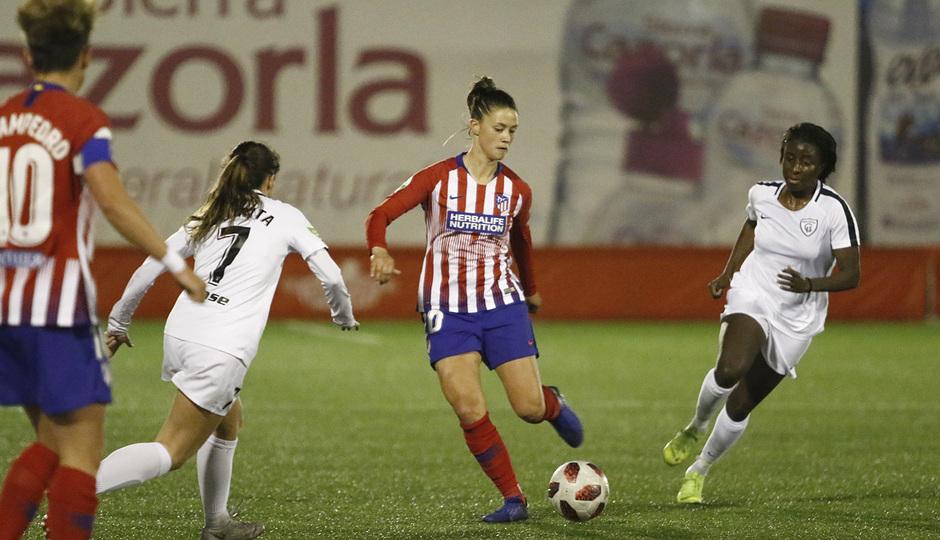 Temporada 18/19   Madrid CFF - Atlético de Madrid Femenino   Viola