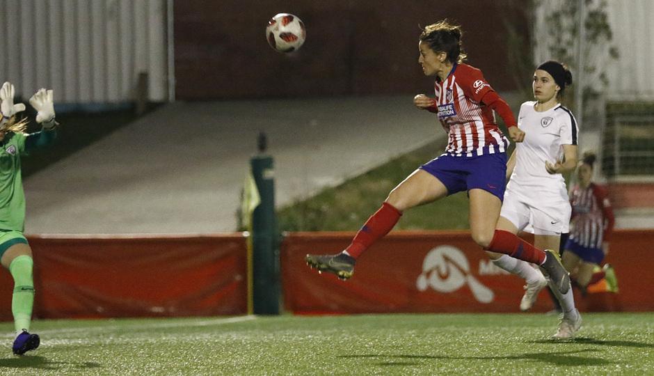 Temporada 18/19   Madrid CFF - Atlético de Madrid Femenino   Olga