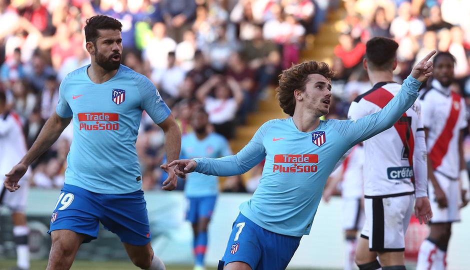 Temporada 18/19 | Rayo Vallecano - Atlético de Madrid | Gol Griezmann