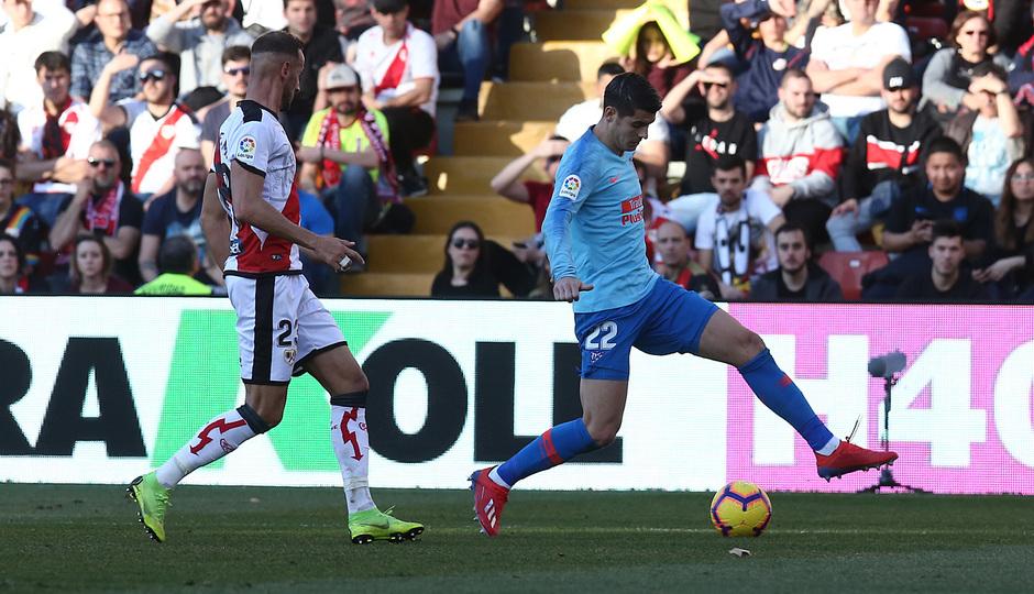 Temporada 18/19 | Rayo Vallecano - Atlético de Madrid | Morata