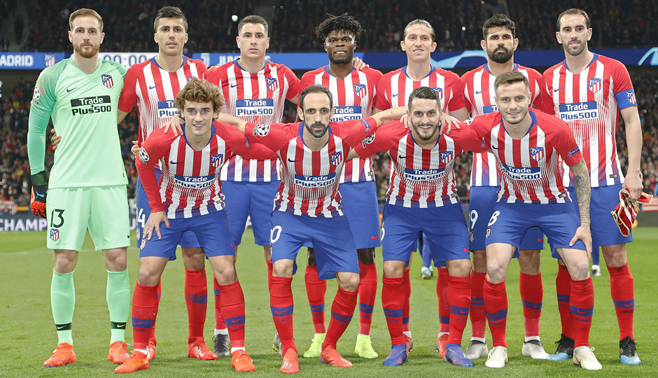Temp. 18-19 | Atlético de Madrid - Juventus | Once