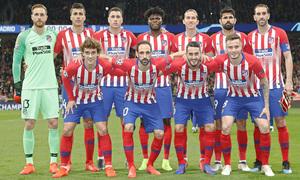 Temp. 18-19 | Atlético de Madrid - Juventus | Once