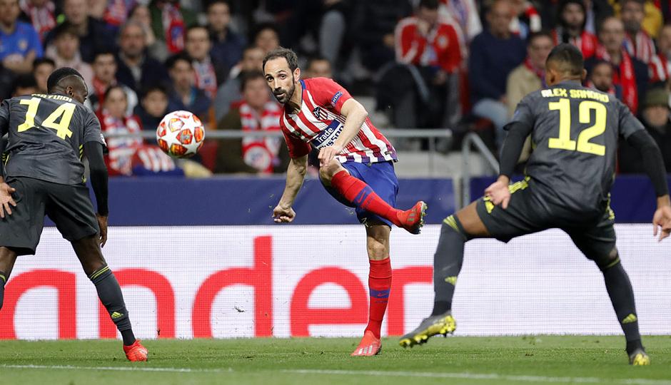 Temp. 18-19   Atlético de Madrid - Juventus   Juanfran