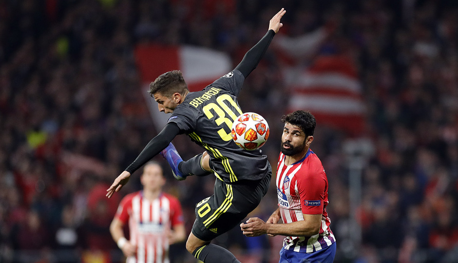 Temp. 18-19   Atlético de Madrid - Juventus   Diego Costa