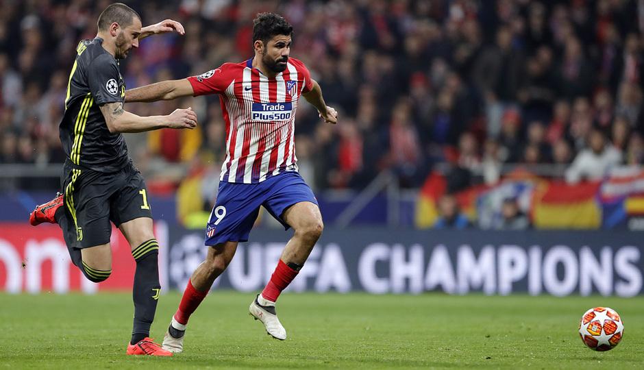Temp. 18-19   Atlético de Madrid - Juventus   Costa