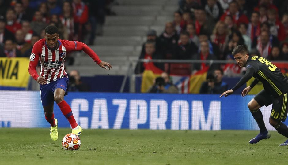 Temp. 18-19   Atlético de Madrid - Juventus   Lemar