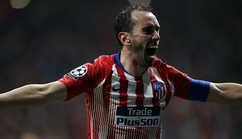 Temp. 18-19   Atlético de Madrid - Juventus   Godín