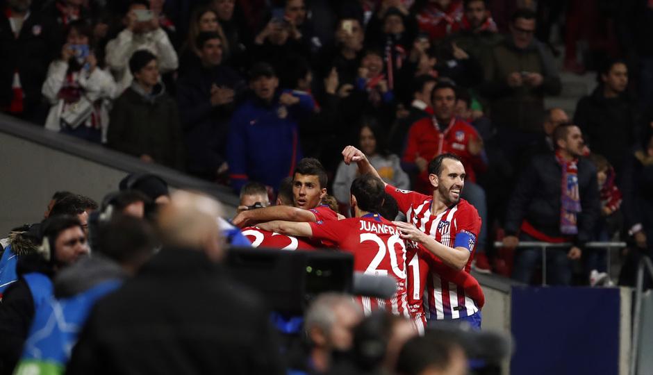 Temp. 18-19   Atlético de Madrid - Juventus   celebración
