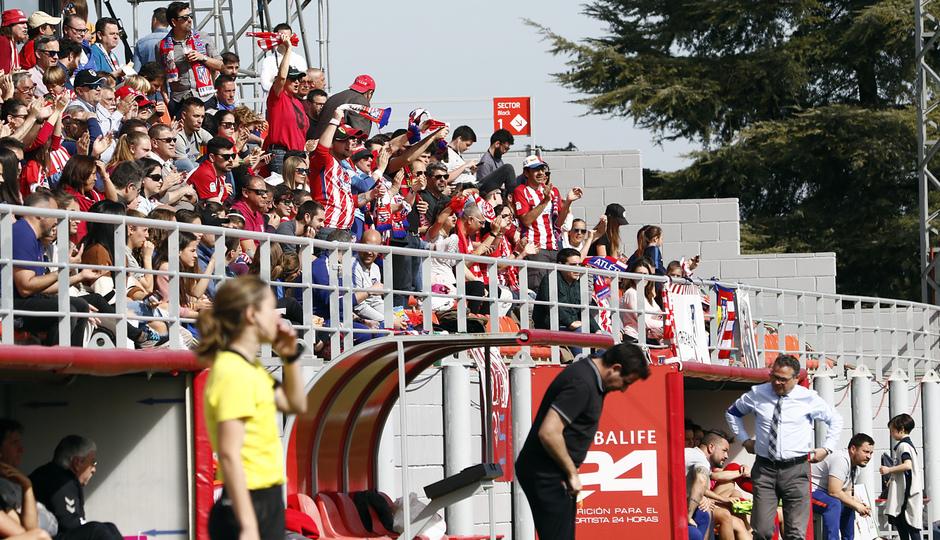 Temporada 18/19 | Atlético de Madrid Femenino - Fundación Albacete | Aficion