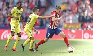 Temporada 18/19 | Atlético de Madrid - Villarreal | Filipe Luis