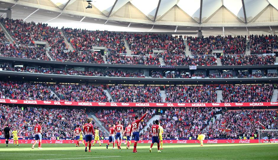 Temporada 18/19 | Atlético de Madrid - Villarreal | Wanda Metropolitano | Afición