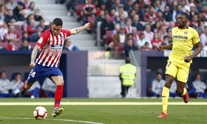 Temporada 18/19 | Atlético de Madrid - Villarreal | Giménez