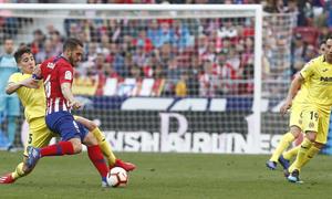 Temporada 18/19 | Atlético de Madrid - Villarreal | Koke