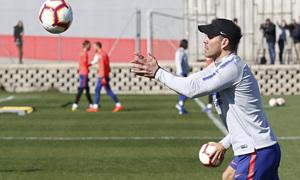 Temporada 18/19 | Entrenamiento del primer equipo | 27/02/2019 | Simeone