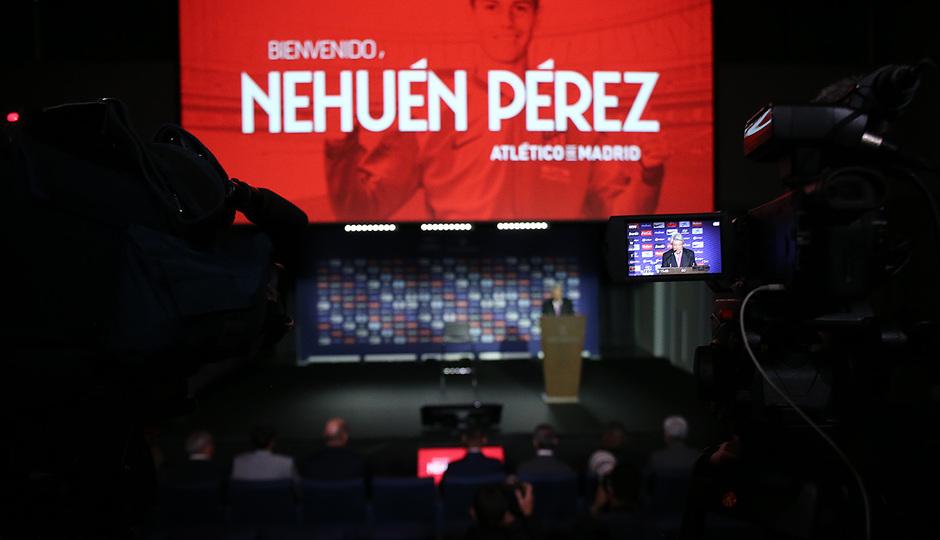 Temporada 18/19 | Presentación Nehuén Pérez