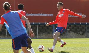 Temporada 18/19 | Entrenamiento del primer equipo | 01/03/2019 | Borja Garcés