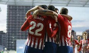 Temporada 18/19   Real Sociedad - Atlético de Madrid   Gol