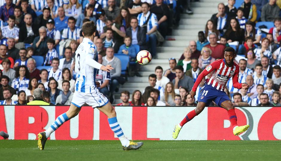 Temporada 18/19 | Real Sociedad - Atlético de Madrid | Lemar