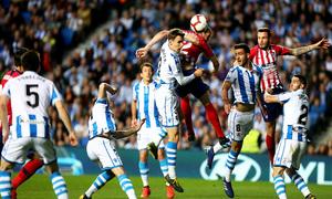 Temporada 18/19   Real Sociedad - Atlético de Madrid  