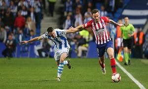 Temporada 18/19   Real Sociedad - Atlético de Madrid   Saúl