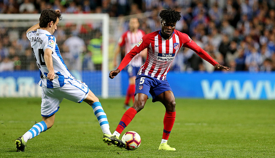 Temporada 18/19 | Real Sociedad - Atlético de Madrid | Thomas