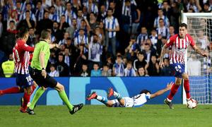 Temporada 18/19   Real Sociedad - Atlético de Madrid   Giménez