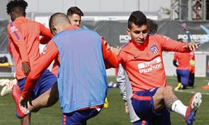 Temporada 18/19 | Entrenamiento del primer equipo | 05/03/2019 | Correa