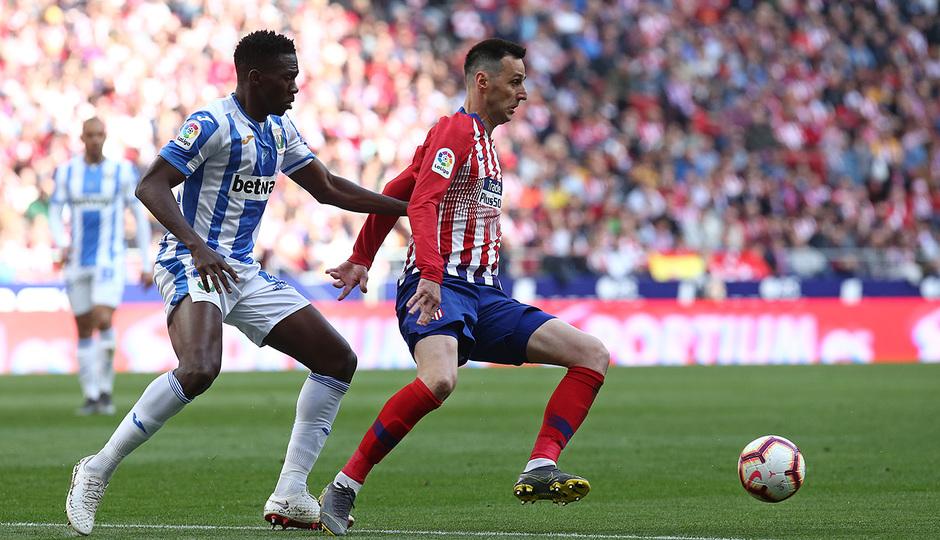 Temporada 18/19 | Atlético de Madrid - Leganés | Kalinic