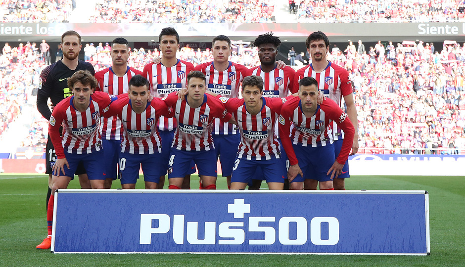 Temporada 18/19 | Atlético de Madrid - Leganés | Once
